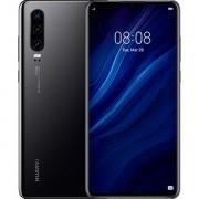 Huawei P30 4g 128gb 6gb Ram Dual-Sim Black