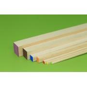 Bagheta dreptunghiulara balsa 3 x 3 x 1000 mm (1 buc)