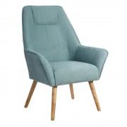 Fotoliu design modern Eliasz albastru