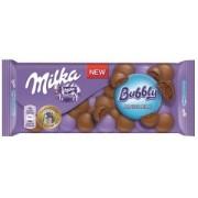 Milka Ciocolata Lapte din Alpi Bubbly 100g