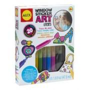 Alex Toys Windows Sticker Art Glam, Multi Color