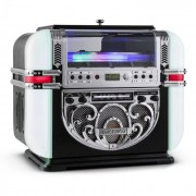 Ricatech RR700 Retro - Jukebox CD AM/FM AUX LED (604006)
