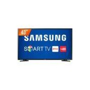 Smart TV LED 43'' Full HD Samsung J5290 HDMI USB Wi-Fi Integrado Conversor Digital