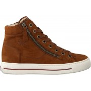 Paul Green Sneaker High 4024 Cognac Damen