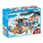 Playmobil Cabana de esqui 9280Multicolor- TAMANHO ÚNICO