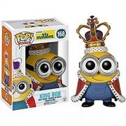 Funko Minions - Despicable Me 3 - King Bob Pop! Vinyl Toy Figure - Licensed Minions Merchandise & Accessories