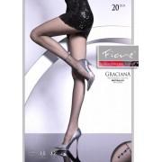Fiore - Elegant, subtle patterned tights Graciana 20 DEN