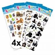 Geen Voordeelpakket safari thema stickers