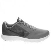 Nike Revolution 3 Men'S Grey Running Shoes