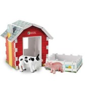 Set figurine - Ferma Animalelor cu Hambar Learning Resources