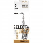 D'Addario Woodwinds Saxofón Tenor 2H Unfiled cajita con 5 cañas