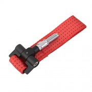 Tradico® 2 tons Racing Car Tow Towing Strap for Front Bumper Hook Truck Red