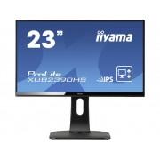 LED-monitor 58.4 cm (23 inch) Iiyama XUB2390HS-B1 Energielabel A 1920 x 1080 pix Full HD 5 ms DVI, HDMI, VGA AH-IPS LED