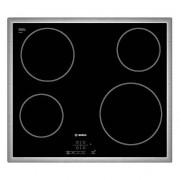 Bosch PKE645B17E Glaskeramik Kochstelle autark Edelstahl Rahmen