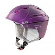 schi cască UVEX P2US WL, violet / roz șah-mat (S566178900*)