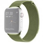 Apple Milanees Apple watch bandje 42mm / 44mm RVS - Groen