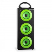 Auna Beachboy XXL Bluetooth-Lautsprecher grün USB SD AUX UKW