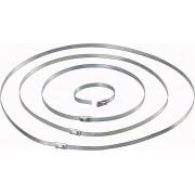 Colier cablu otel, 127 x 4.6 mm, la pachet, 1 bucati