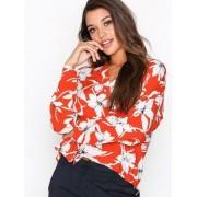Vero Moda Vmjuly Ls Shirt Vardagsblusar Orange