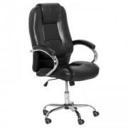 Президентски офис стол Carmen 6509 - черен LUX, 3520731