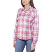Columbia Silver Ridge Plaid overhemd en blouse lange mouwen Dames rood XS 2017 Overhemden lange mouw