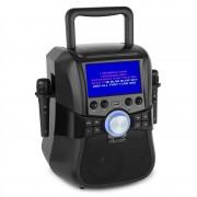 """Auna Stage Hero karaoke rendszer, DVD, 7"""", TFT kijelző, 2 mikrofon, 25 W RMS (MG5-Stage Hero)"""