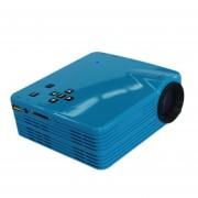 EH Video Multimedia HDMI LED Proyector Home Cinema Teatro Cine AV VGA TV USB-Azul