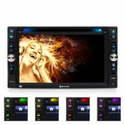 "Auna MVD-481 Autorradio con pantalla 6,2"" DVD CD MP3 USB SD"
