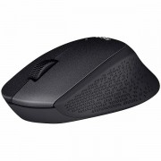 910-004909 - LOGITECH Wireless Mouse M330 SILENT PLUS - EMEA - BLACK