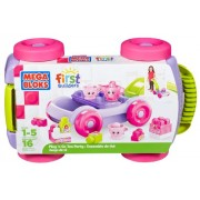 Fisher Price First Builders Play 'N Go Tea Party, Multi Color