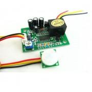 12V relé so senzorom pohybu PIR s časovačom 15sec-15min