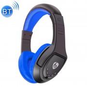 OVLENG MX333 Bluetooth draadloze Stereo lawaai isoleren hoofdtelefoon met Mic voor iPhone Samsung Huawei Xiaomi HTC en andere Smartphones alle Audio Devices(Dark Blue)