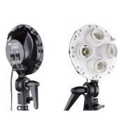 Lampa lumina continua Falcon Eyes + Octobox 70cm LHD-B455 4x55W