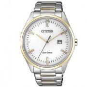 Citizen Analog White Dial Mens Watch-BM7354-85A