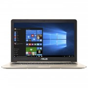 "Notebook Asus VivoBook Pro 15 N580VN, 15.6"" Full HD, Intel Core i5-7300HQ, MX150-2GB, RAM 4GB, HDD 500GB + SSD 128GB, Endless OS, Auriu"