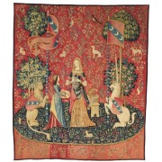 Puzzle din lemn Michele Wilson - The Lady with the Unicorn, 150 piese (61591)