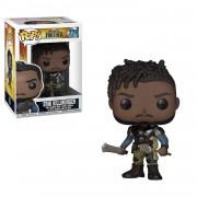 Funko POP! Bobble: Marvel Black Panther Erik Killmonger