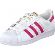 adidas Originals Superstar Foundation Jr White/Bold Pink, Skor, Sneakers & Sportskor, Låga sneakers, Vit, Unisex, 38