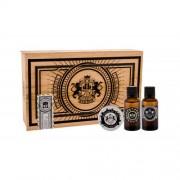 DEAR BARBER Beard Oil подаръчен комплект масло за брада 30 ml + восък за мустаци Moustache Wax 25 ml + EDT With Confidence 30 ml за мъже