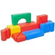 School Specialty Plastic Hollow Block, 17 Pieces