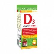 Naturland D3-vitamin csepp (30 ml)