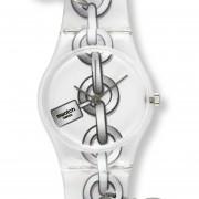 Reloj Swatch LK333-Blanco Con Plateado