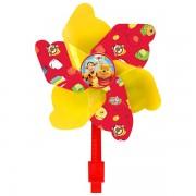 Disney Nalle Puh - Vindsnurra till cykeln - Gul/Röd 17 cm