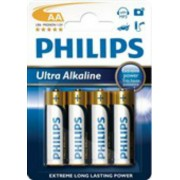 Philips Baterie AA/LR6 PHILIPS Ultra Alkaline 4ks (blistr)