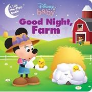 Disney Baby: Good Night, Farm, Hardcover/Disney Books