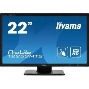 "IIYAMA 21,5"" Optical Dual Touch 1080p VGA DVI HDMI USB 2ms Speakers"