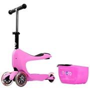Micro Mini2go Deluxe, rózsaszín