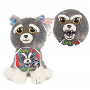 Peluche Con Cara Cambiable Feisty Pets E-Thinker FP001-Gris