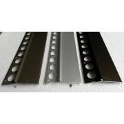 Profil aluminiowy balkonowy okapnikowy 85mm 2.5m złoty