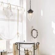 LOBERON Hanglamp Theda / messing